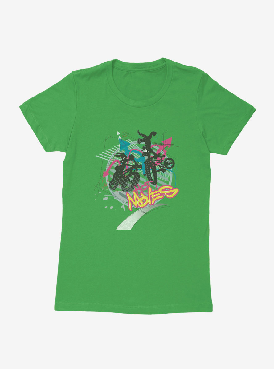 Looney Tunes Hot Moves Neon Womens T-Shirt