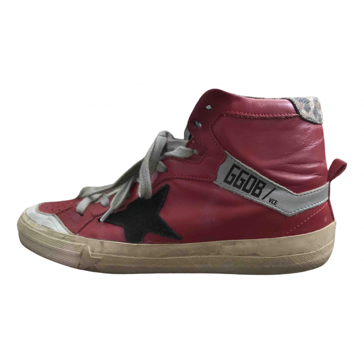 Golden Goose 2.12 Red Patent leather Trainers for Women 37 EU