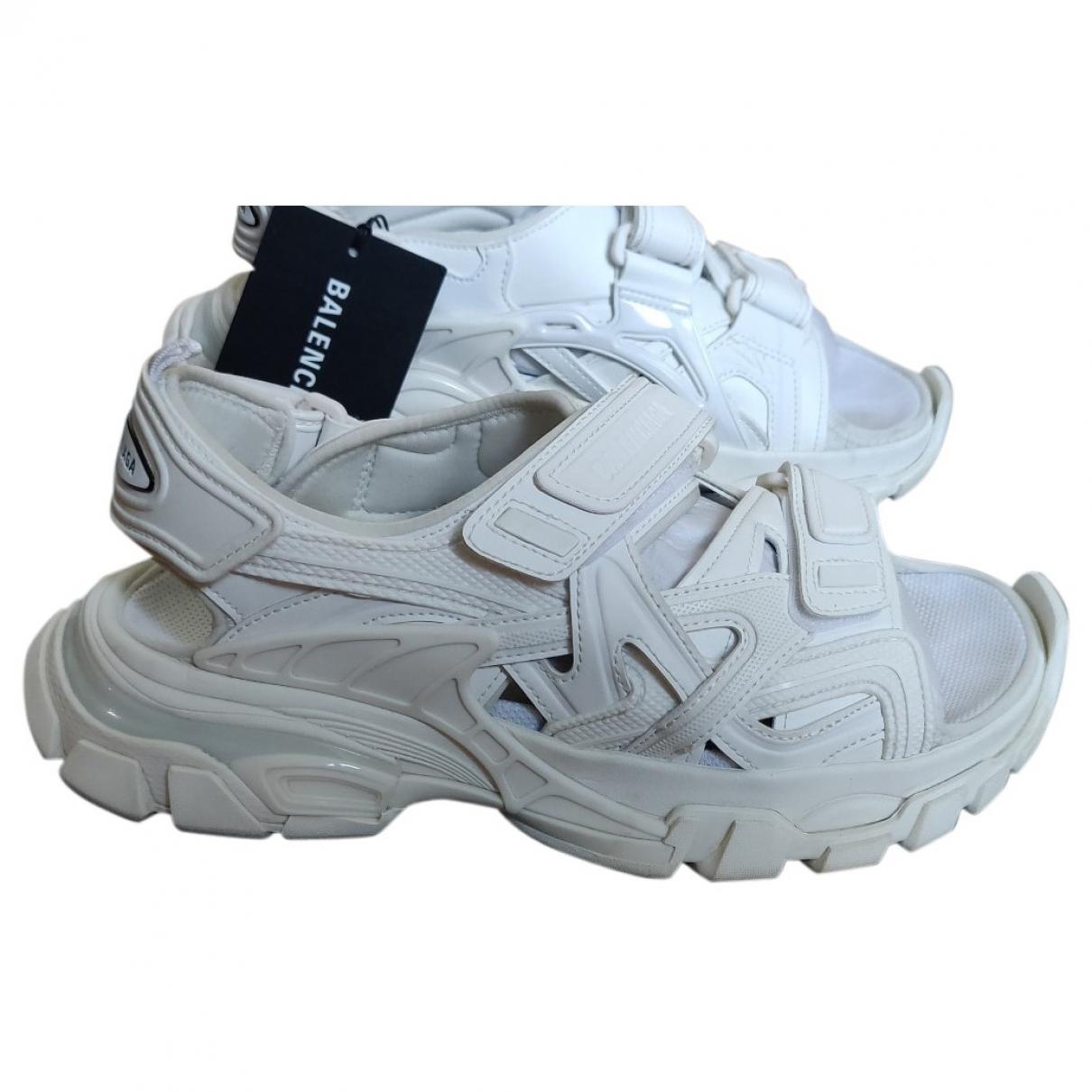 Balenciaga - Sandales   pour homme - blanc