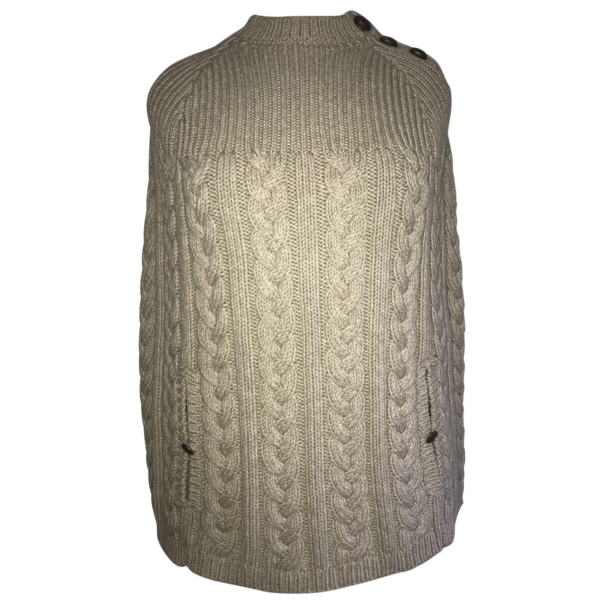 Louis Vuitton - Veste   pour femme en laine - ecru