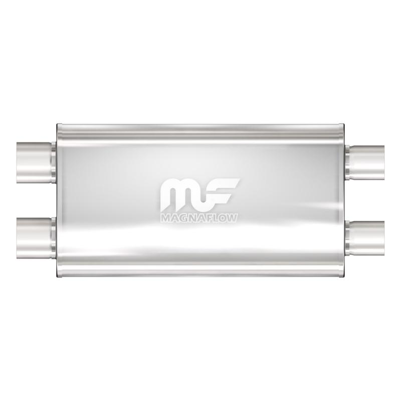 MagnaFlow 14568 Exhaust Products Universal Performance Muffler - 2.5/2.5
