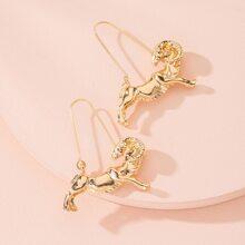 Constellation Design Hoop Earrings
