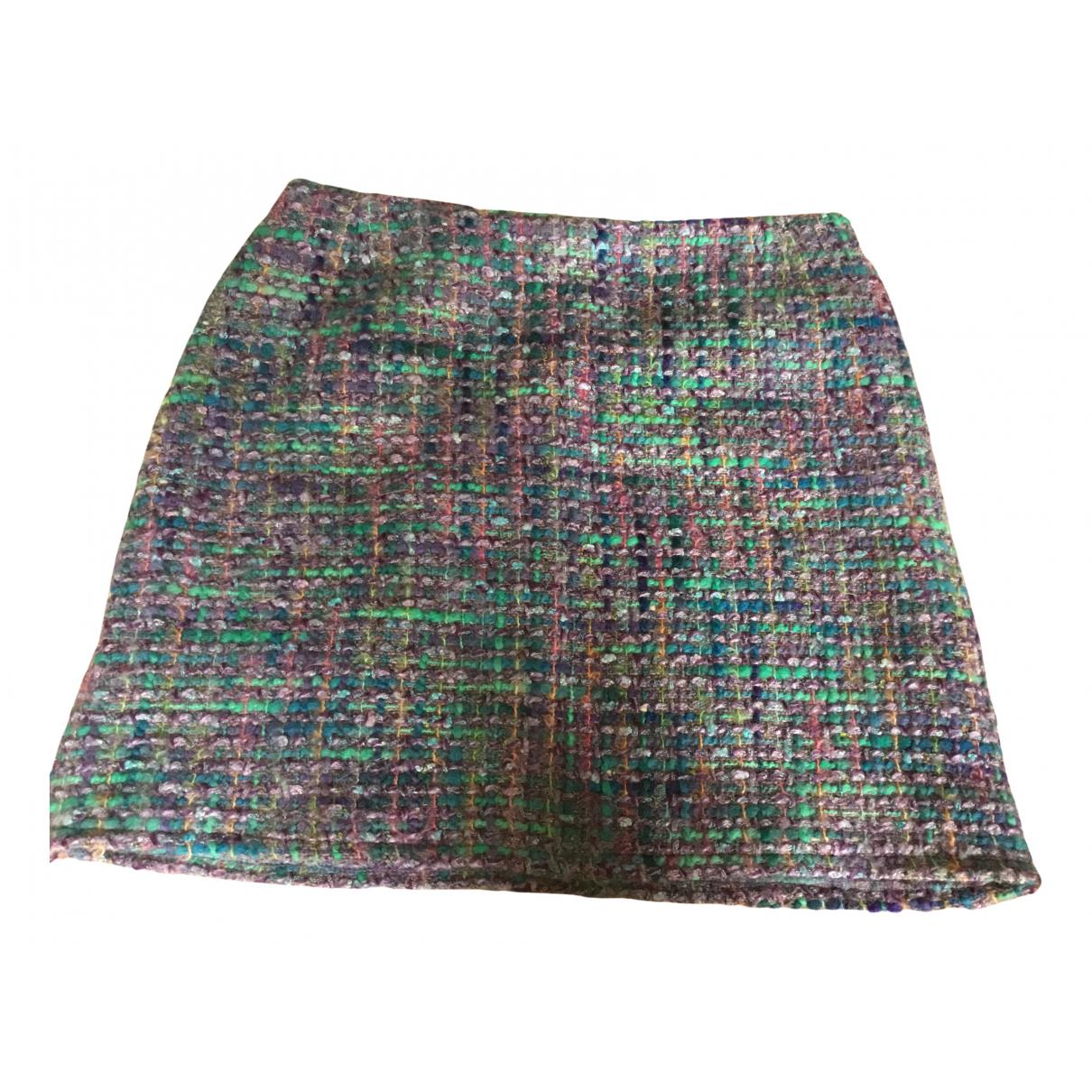 Tara Jarmon N Blue Wool skirt for Women 36 FR