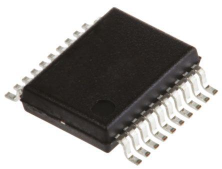 Renesas Electronics ICL3225ECAZ, Line Transceiver, RS-232 2-TX 2-RX 2-TRX, 3.3 V, 5 V, 20-Pin SSOP