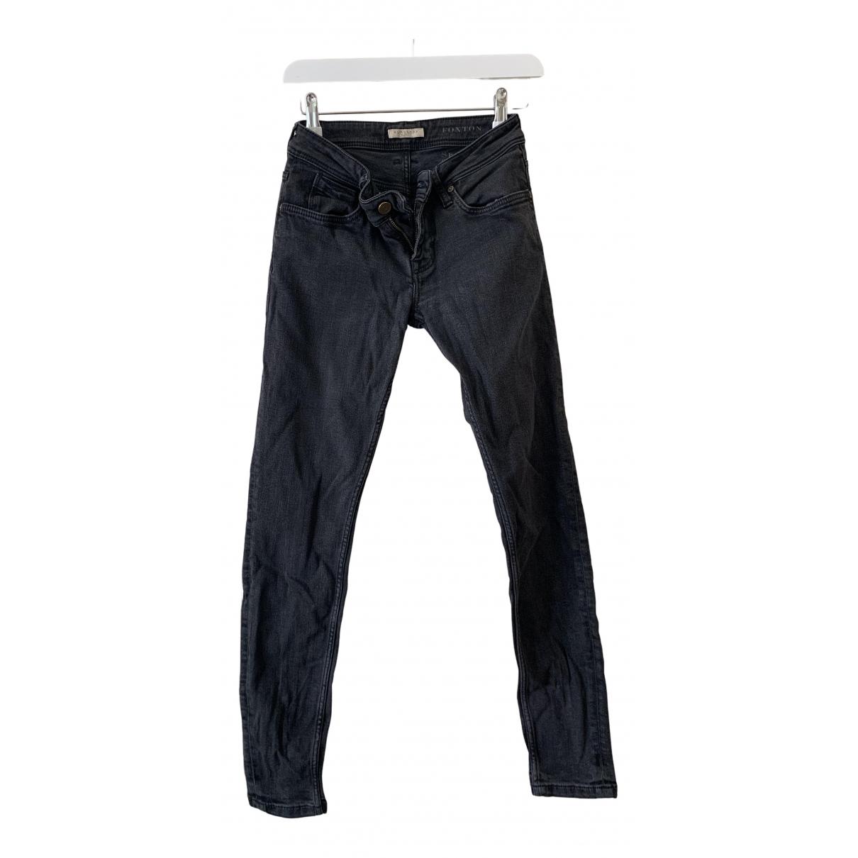 Burberry N Black Denim - Jeans Trousers for Women 8 UK