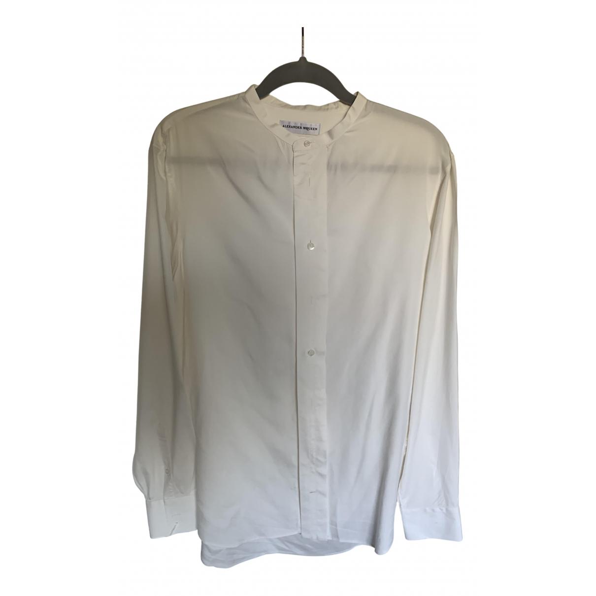 Alexander Mcqueen \N White Cotton Shirts for Men L International