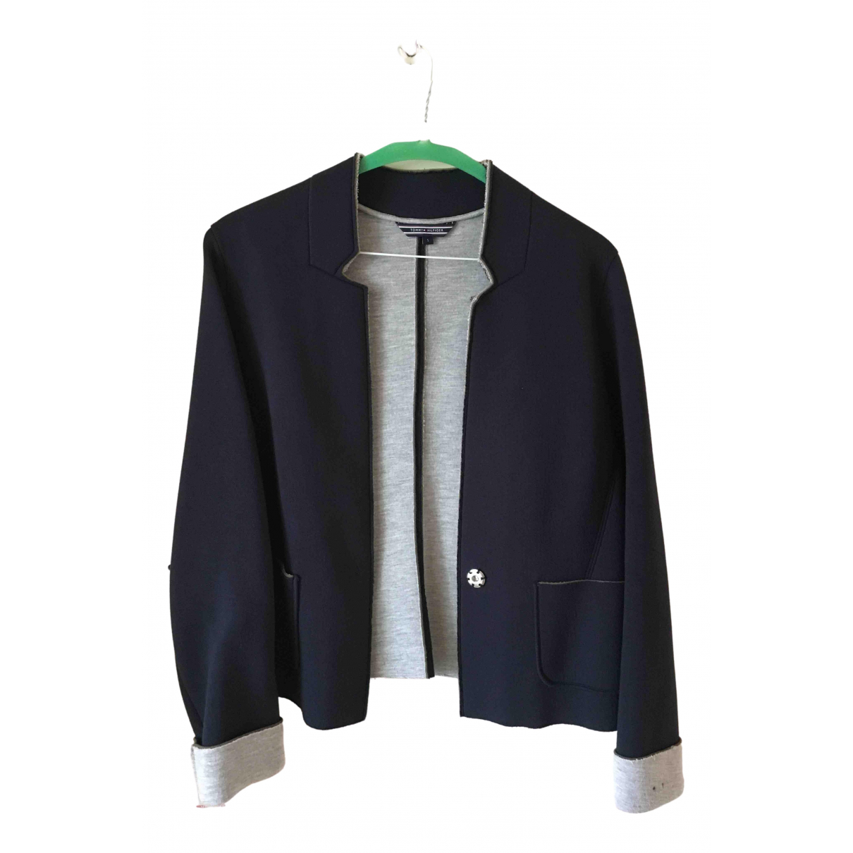 Tommy Hilfiger \N Navy jacket for Women S International