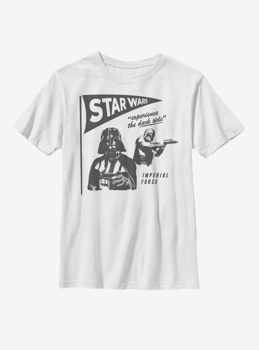 Star Wars Vader Experience The Dark Side Youth T-Shirt