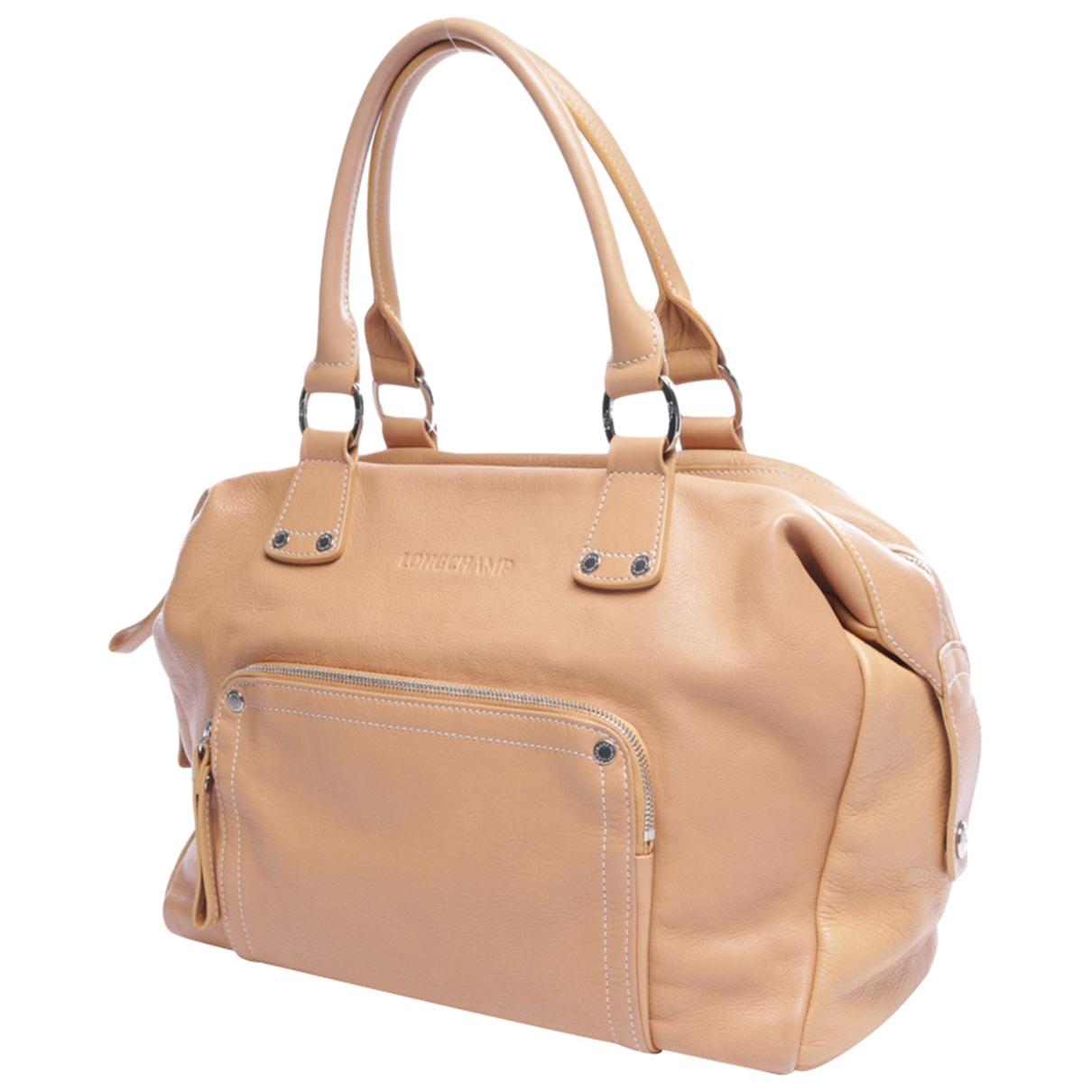 Longchamp N Beige Leather handbag for Women N
