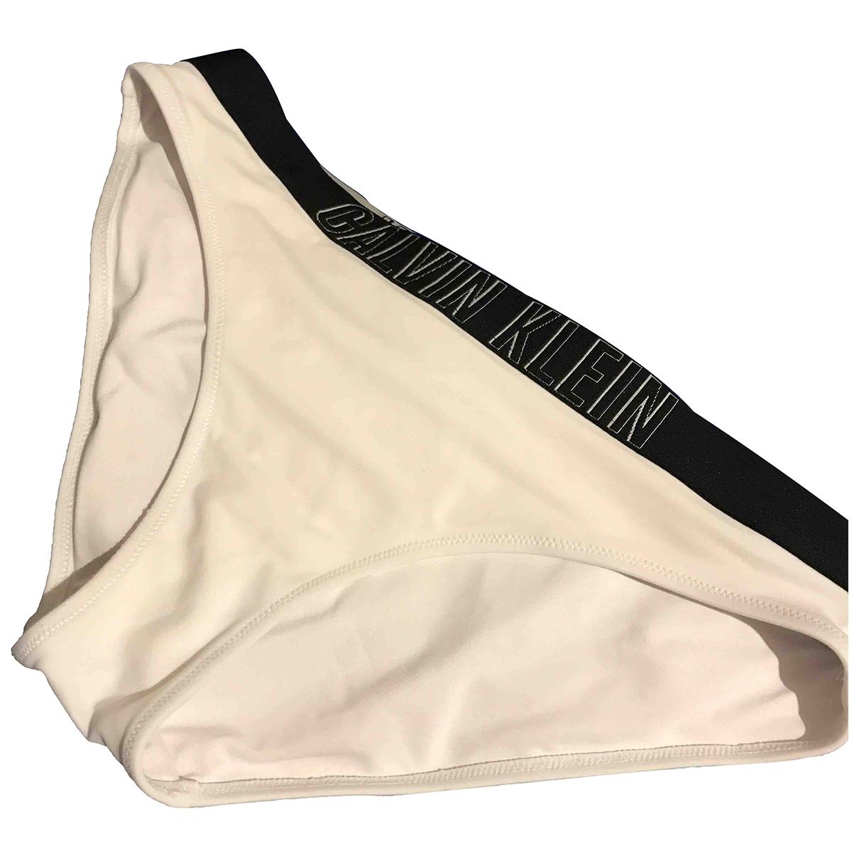 Calvin Klein \N White Swimwear for Women 36 FR