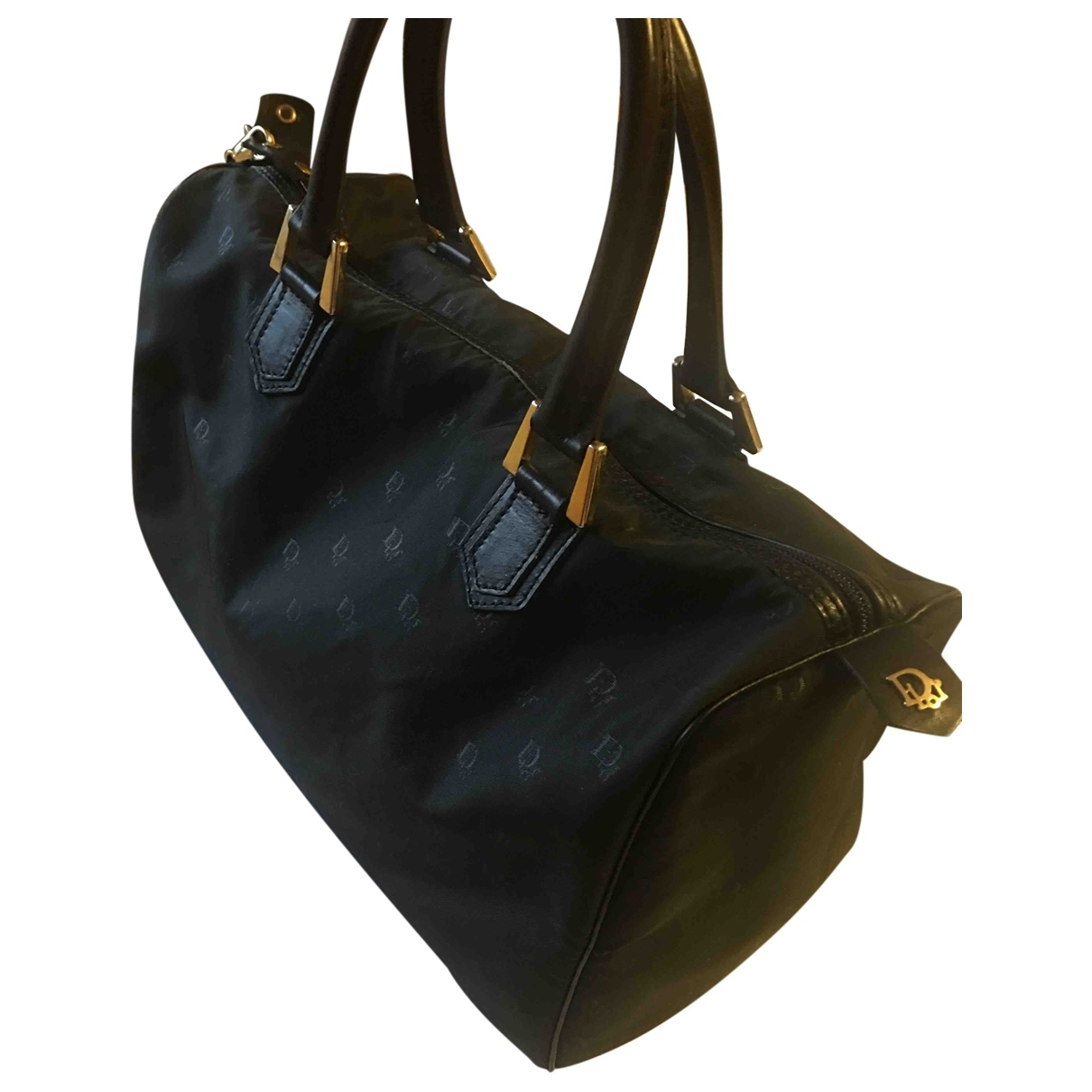 Dior Speedy Black Cloth Travel bag for Women \N