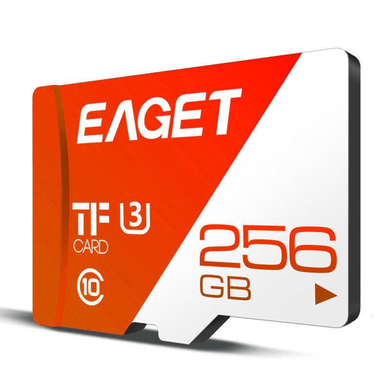 EAGET T1 Memory Card 32GB/64GB/128GB/256GB Class 10 TF Card