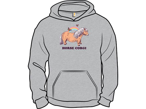 Horse Corgi T Shirt