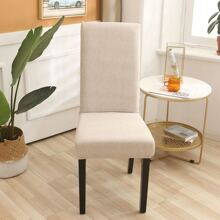 Solid Color Stretchy Chair Cover