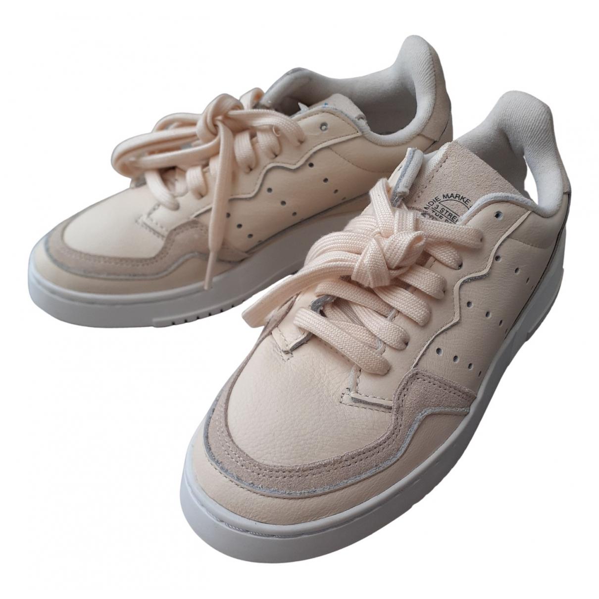 Adidas - Baskets   pour femme - beige
