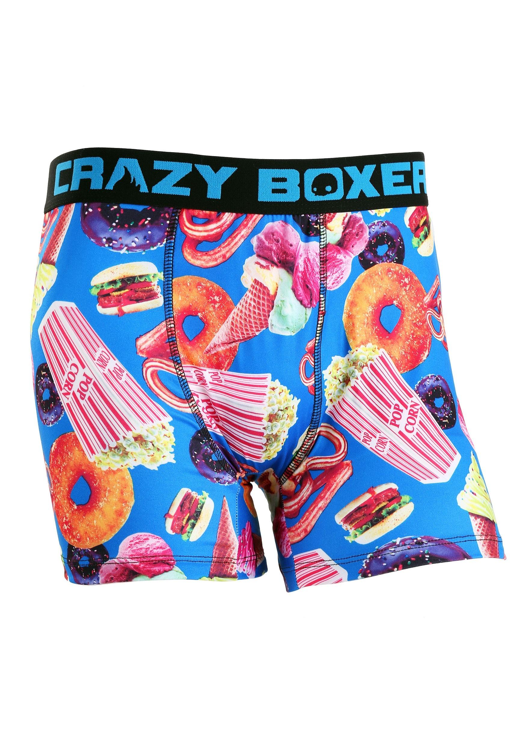 Summer Fair Foods Crazy Boxers Mens Boxer Briefs
