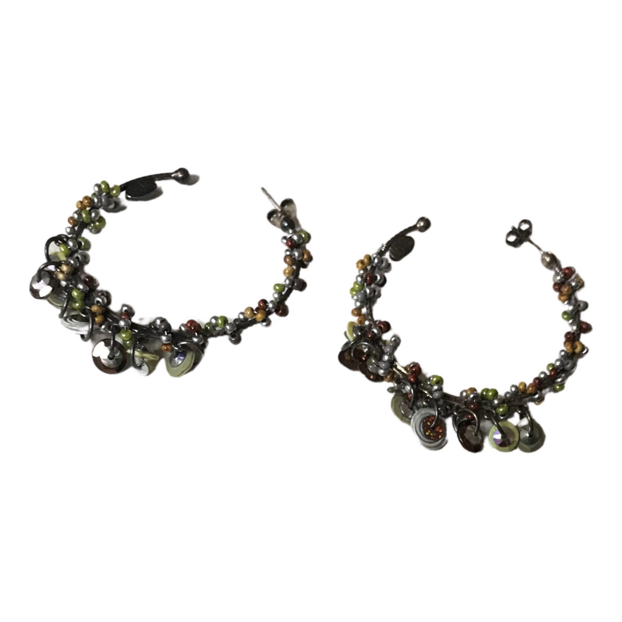 Gas - Boucles doreilles   pour femme en perle - multicolore