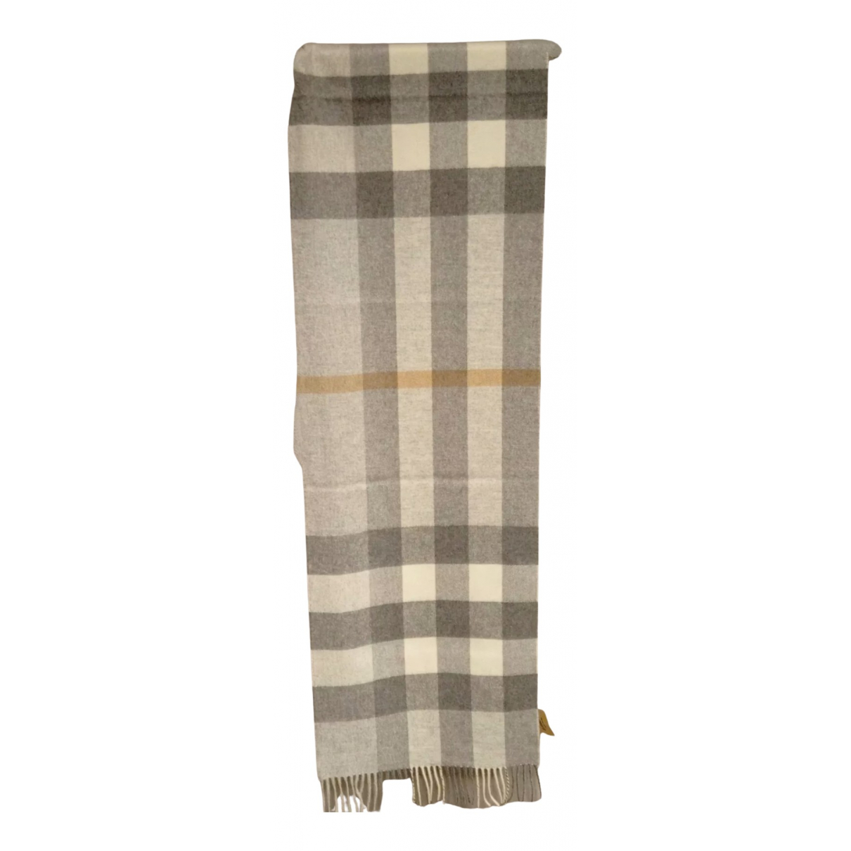 Burberry \N Grey Cashmere scarf for Women \N