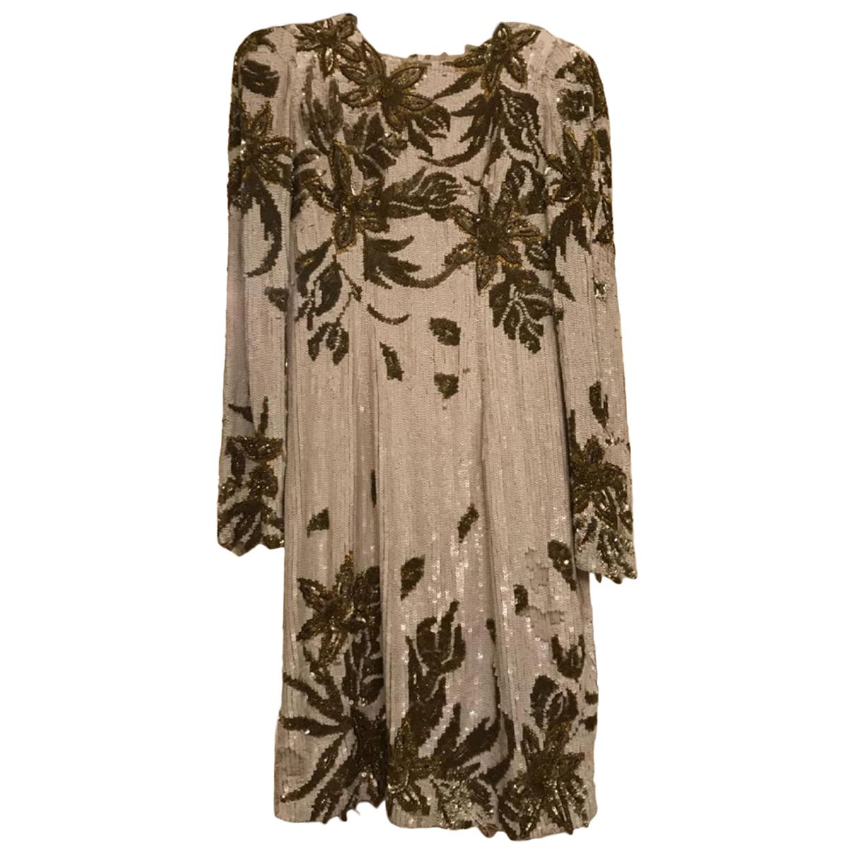 Zuhair Murad - Robe   pour femme en soie - blanc