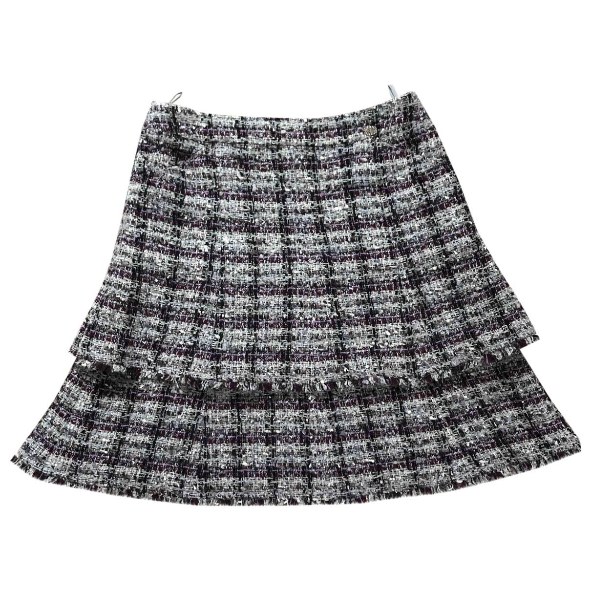 Chanel \N Multicolour Tweed skirt for Women 36 FR