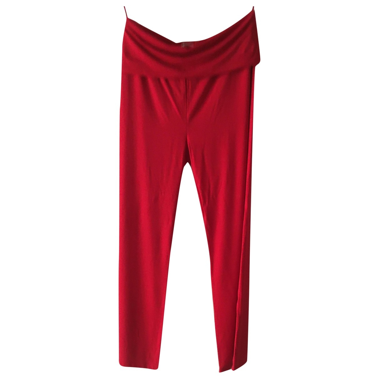 Max Mara \N Red Trousers for Women S International