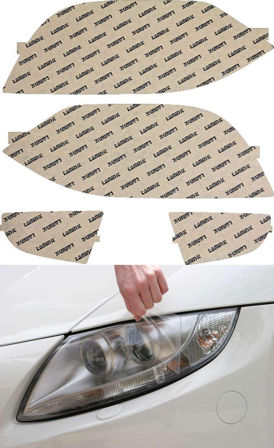 Acura MDX 01-03 Clear Headlight Covers Lamin-X AC007CL