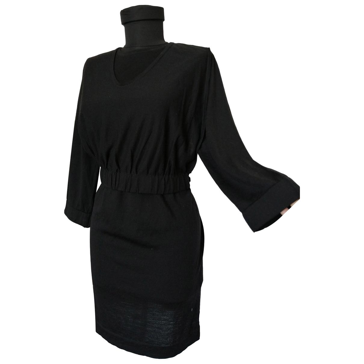 Cos - Robe   pour femme en laine - noir