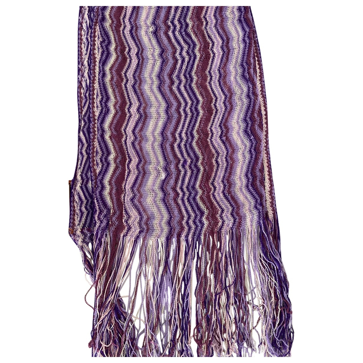 Missoni \N Purple Silk scarf for Women \N