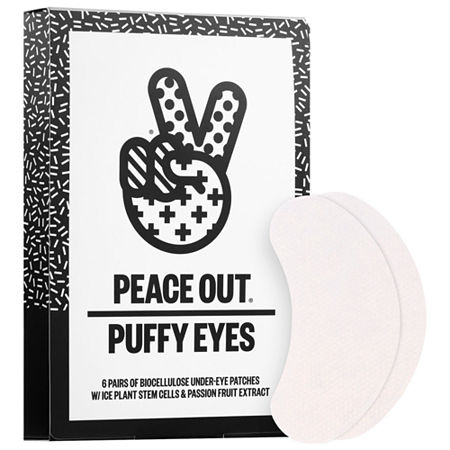 Peace Out Puffy Under-Eye Patches, One Size , Beige