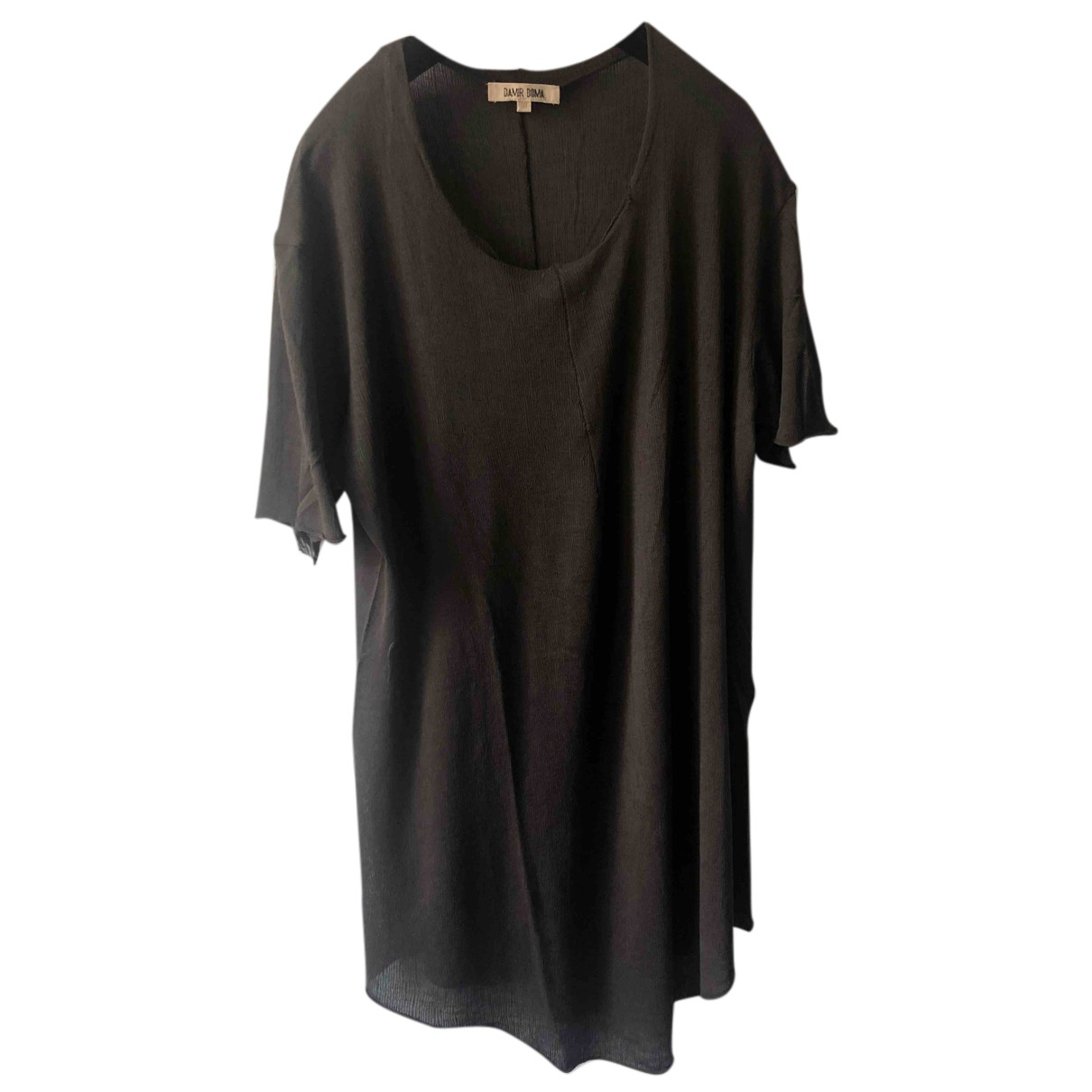 Damir Doma - Tee shirts   pour homme en coton - marron