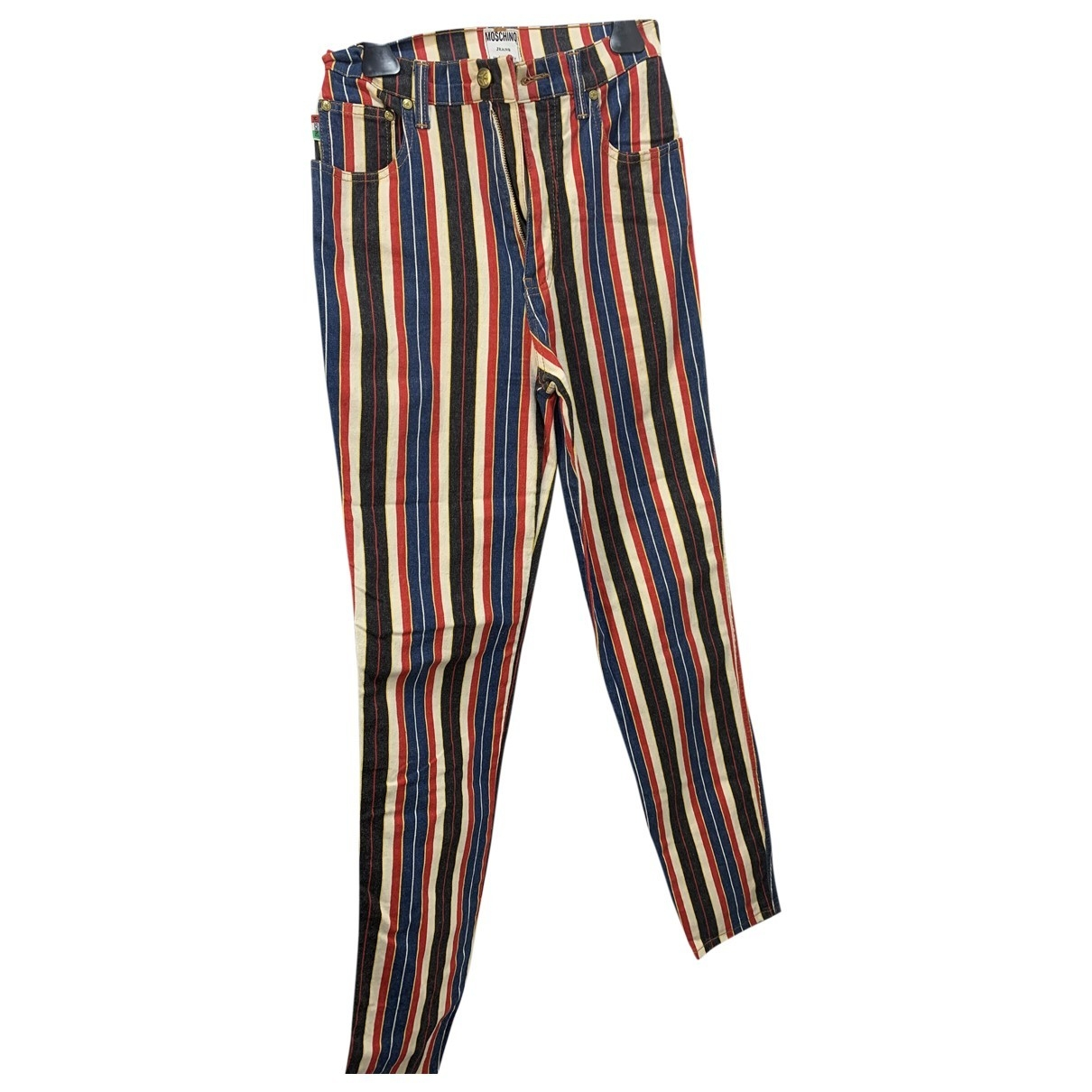 Moschino Cheap And Chic \N Multicolour Cotton Trousers for Women 42 IT