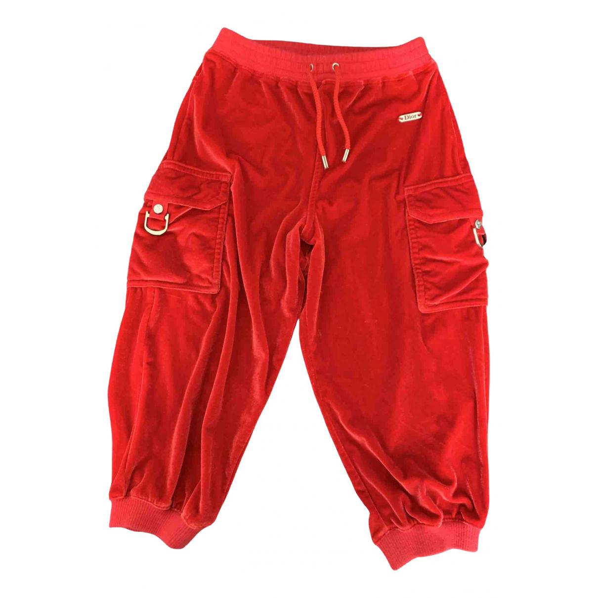 Baby Dior - Pantalon   pour enfant - rouge