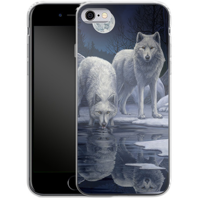 Apple iPhone 6s Silikon Handyhuelle - Warriors of Winter von Lisa Parker