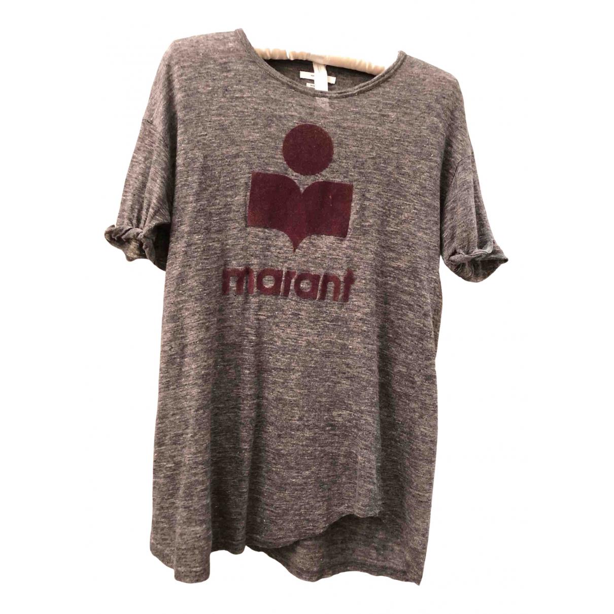 Isabel Marant Etoile N Grey Linen  top for Women L International