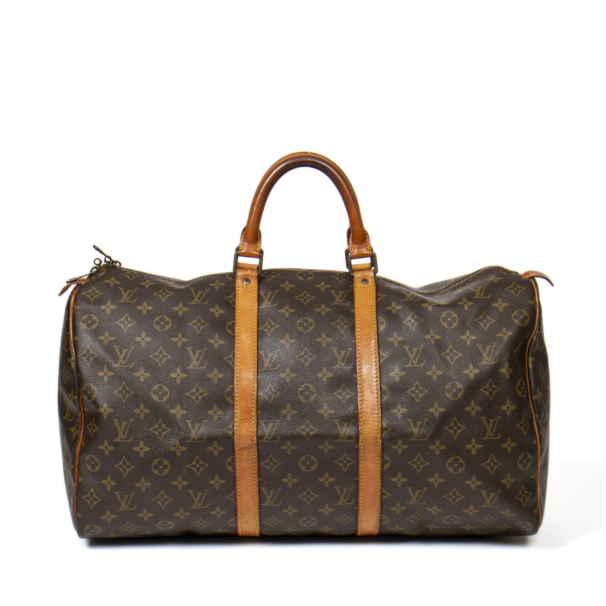 Louis Vuitton \N Brown Leather Travel bag for Women \N