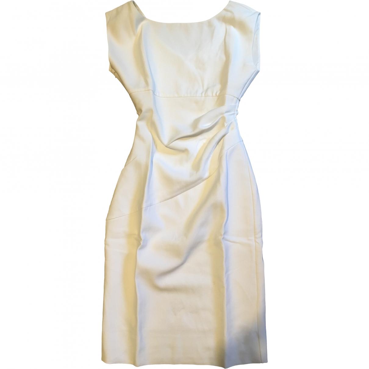 Diane Von Furstenberg \N Kleid in  Weiss Polyester