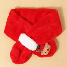 Kleinkind Maedchen Weihnachten Schal mit Klingel Dekor
