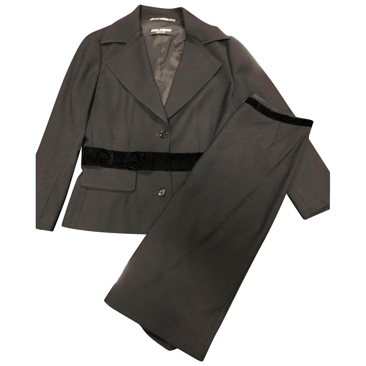 Dolce & Gabbana \N Black Wool jacket for Women 44 IT