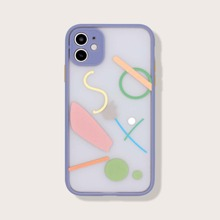 Contrast Frame Transparent iPhone Case
