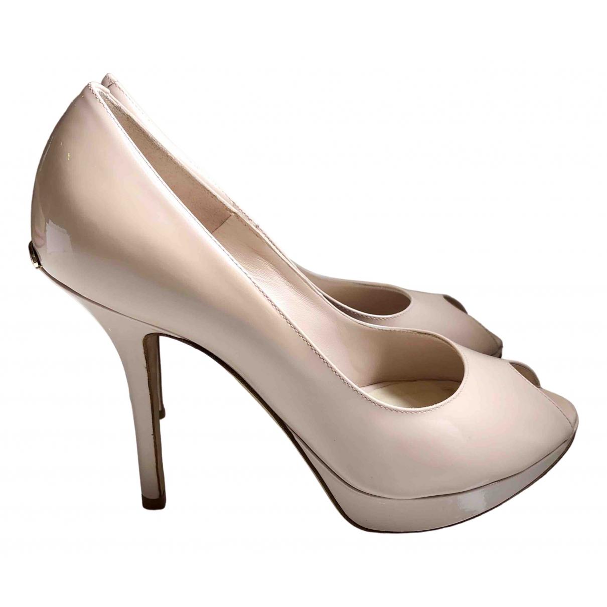 Tacones Miss Dior Peep Toes de Charol Dior
