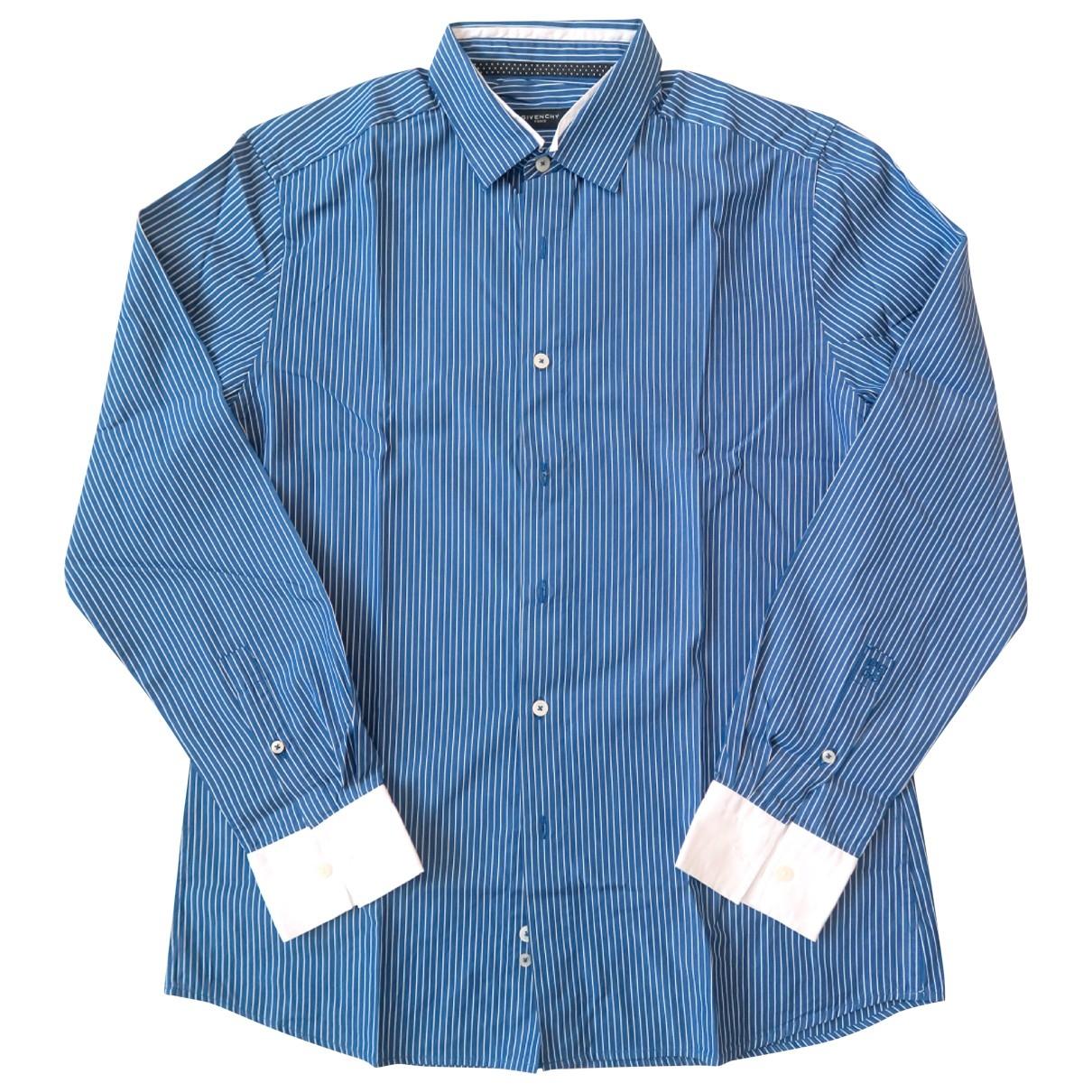 Givenchy \N Hemden in  Blau Baumwolle