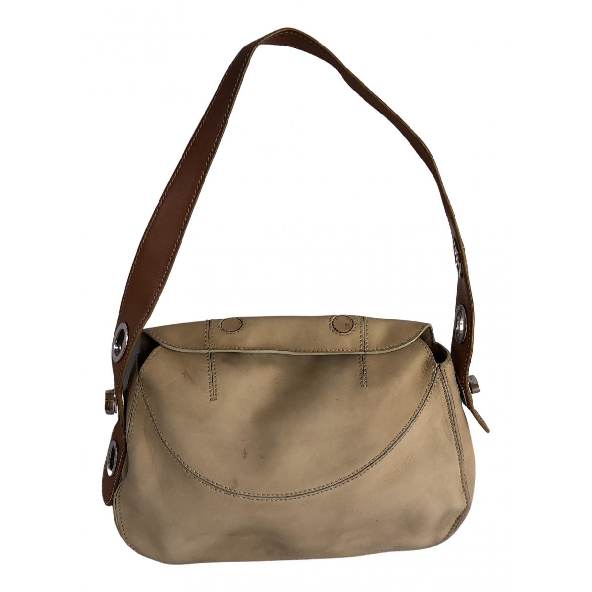 Tods \N Handtasche in  Beige Leinen