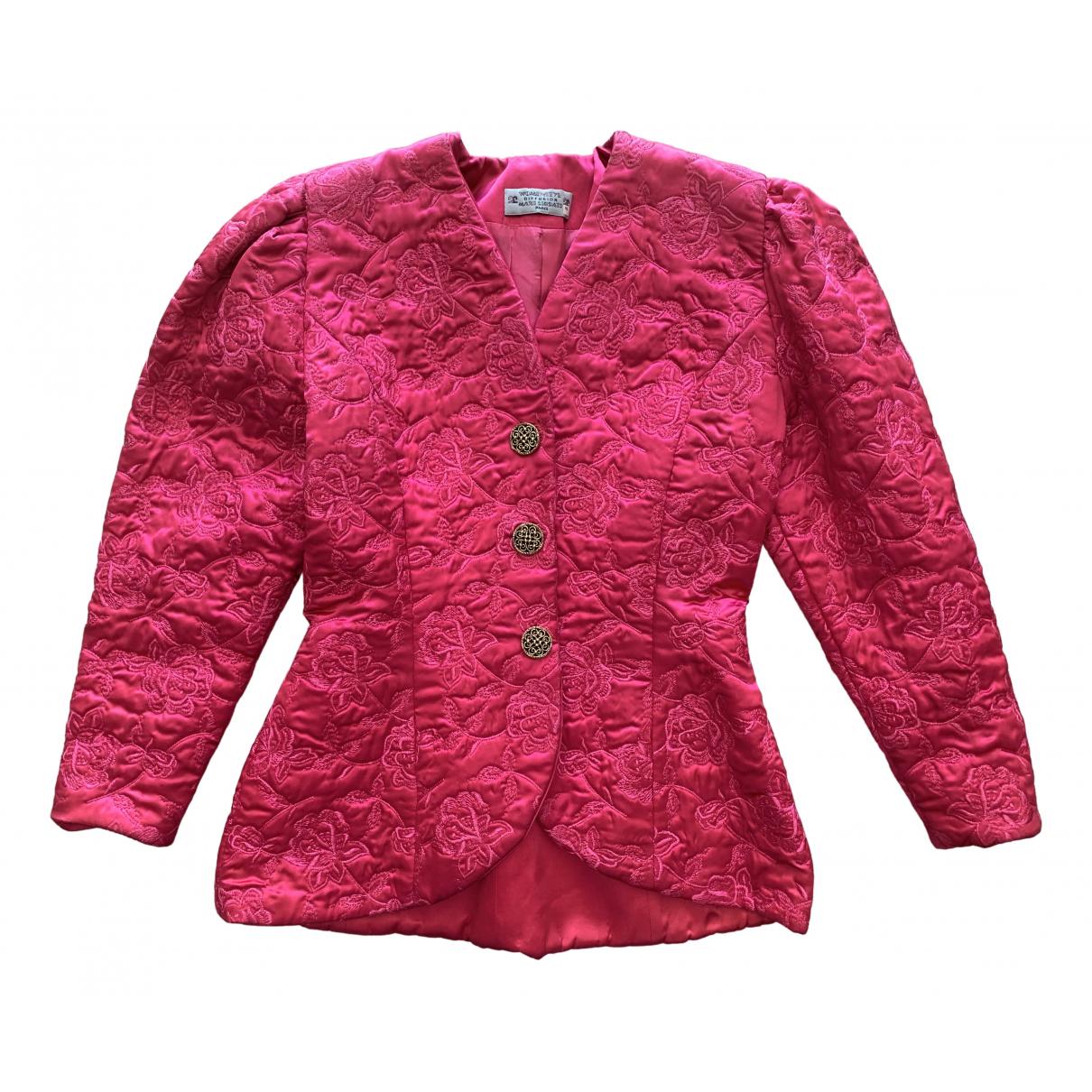 - Veste Manche ballon pour femme - rose