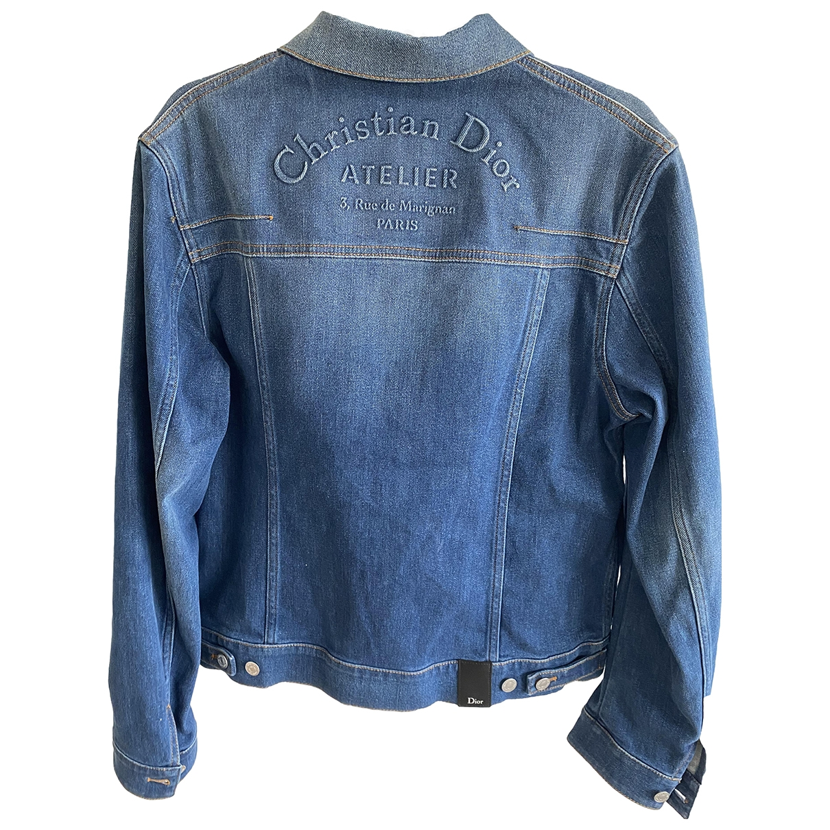 Dior Homme \N Jacke in  Blau Denim - Jeans