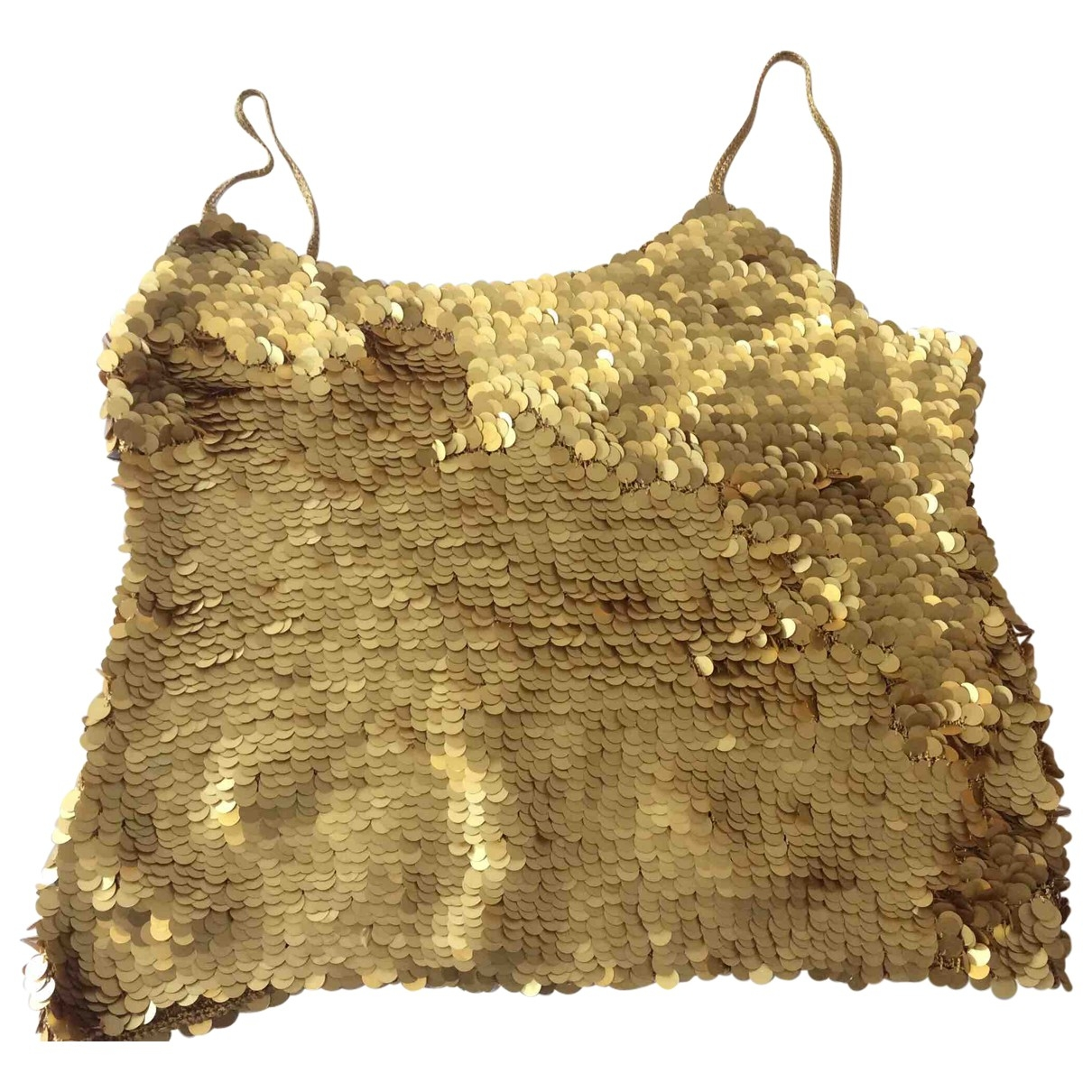 Non Signé / Unsigned \N Gold  top for Women 44 IT