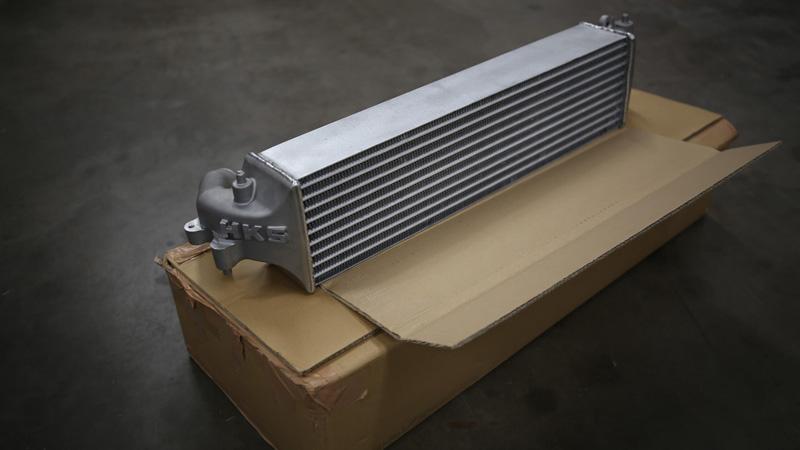 HKS 13001-AH004 Intercooler Kit w/Piping Honda Civic Type R FK8