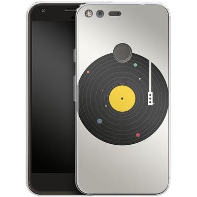 Google Pixel XL Silikon Handyhuelle - Music Everywhere von Florent Bodart