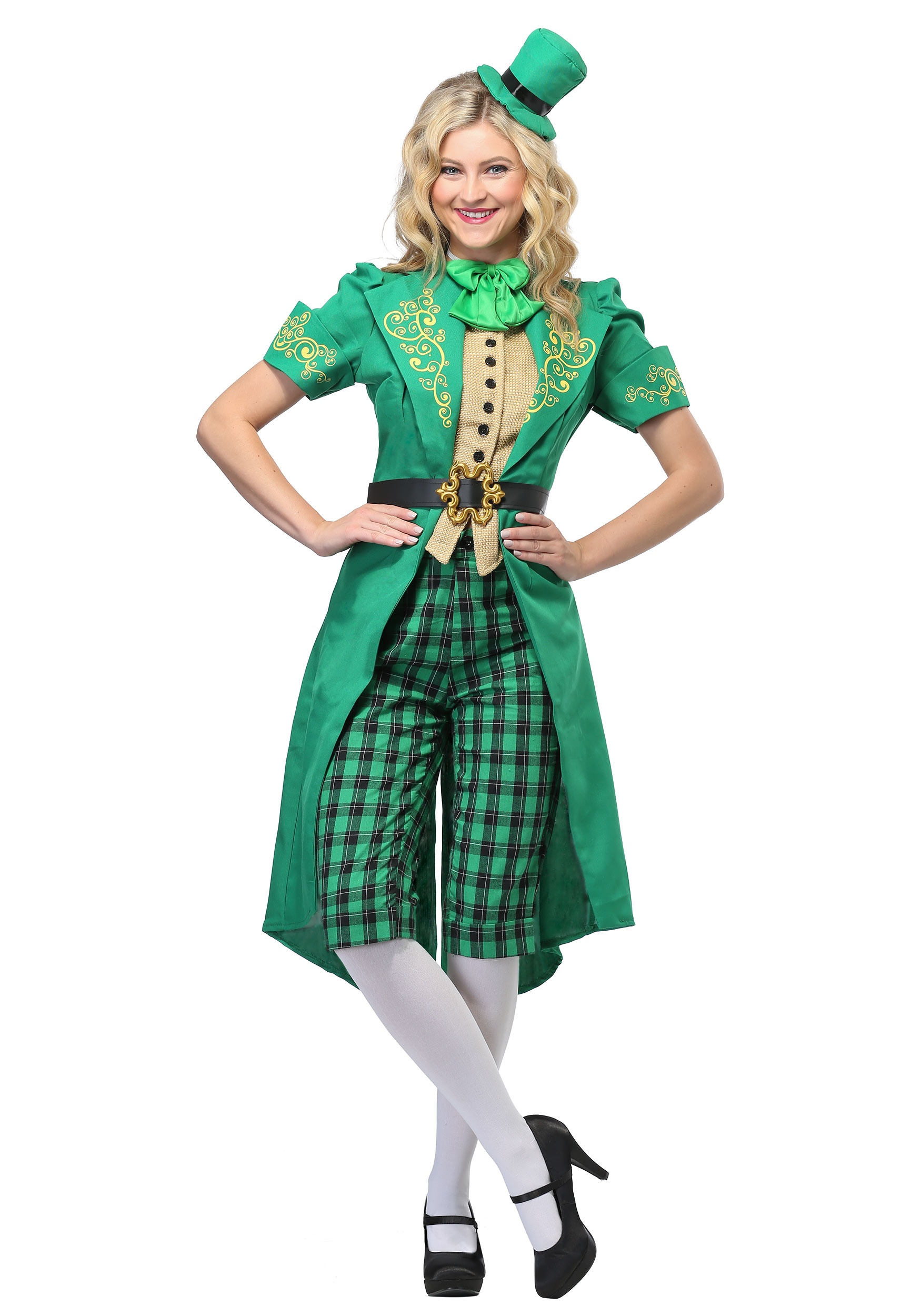 Charming Leprechaun Costume for a Women