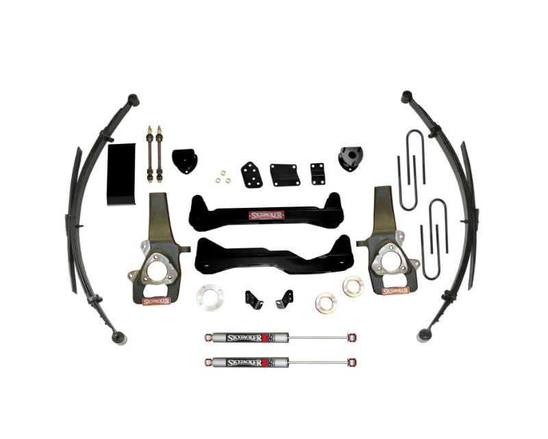 Skyjacker D660SSKS-M Suspension Lift Kit w/Shock M95 Performance Shocks 6 Inch Lift System 4 Shocks 06-08 Dodge Ram 1500