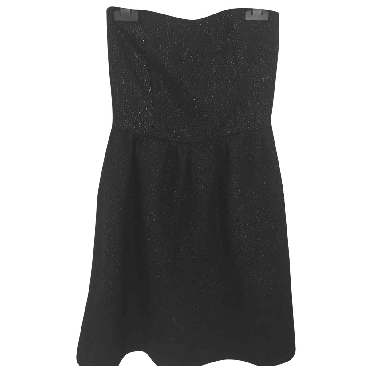 Vicolo \N Kleid in  Schwarz Viskose